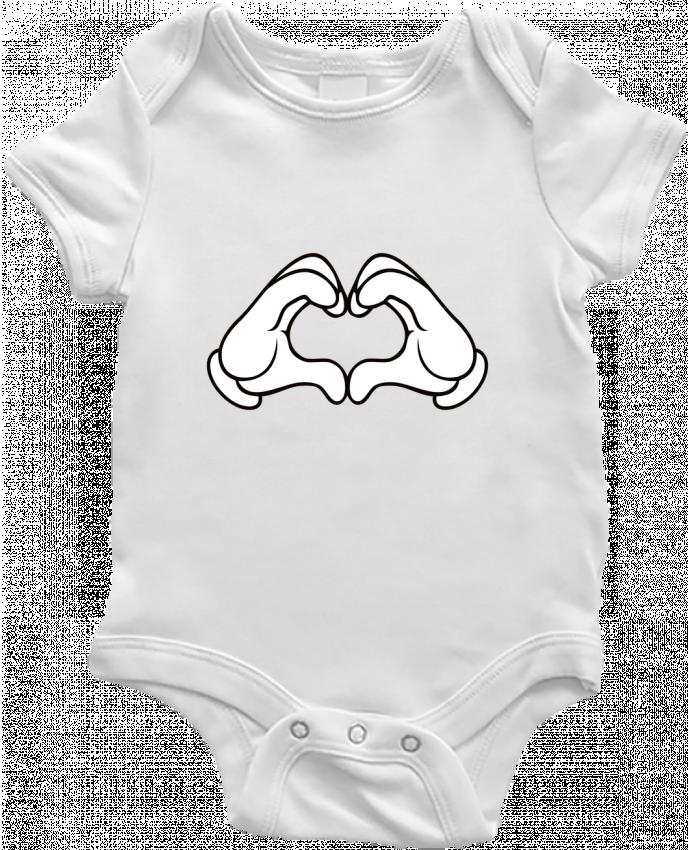 Body Bebé LOVE Signe por Freeyourshirt.com