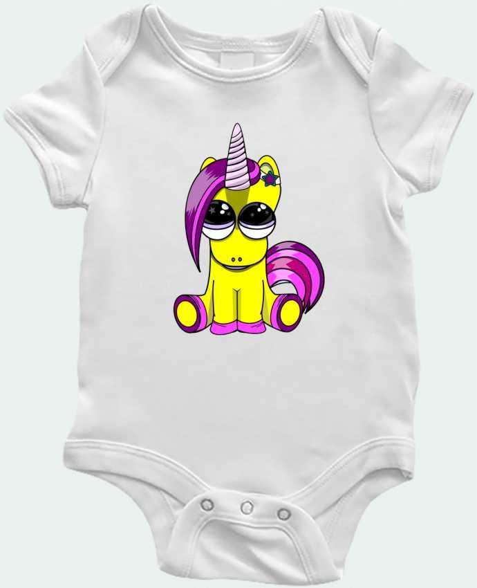 Body Bebé bébé licorne por BOUTIQUE DU BARBU