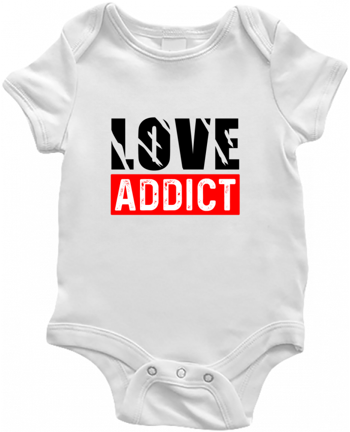 Body Bebé Love Addict por Sole Tshirt