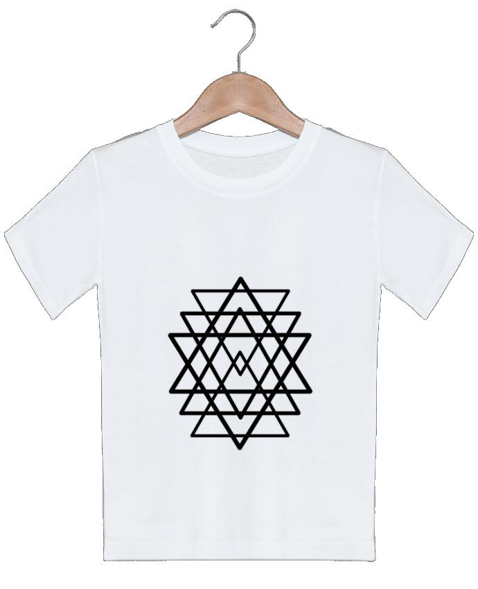 T-shirt garçon motif Logo Wolf rider officiel Wolf Rider