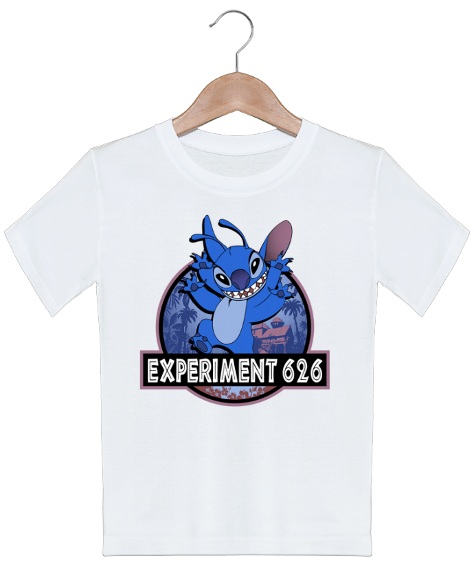 T-shirt garçon motif Experiment 626 Kempo24