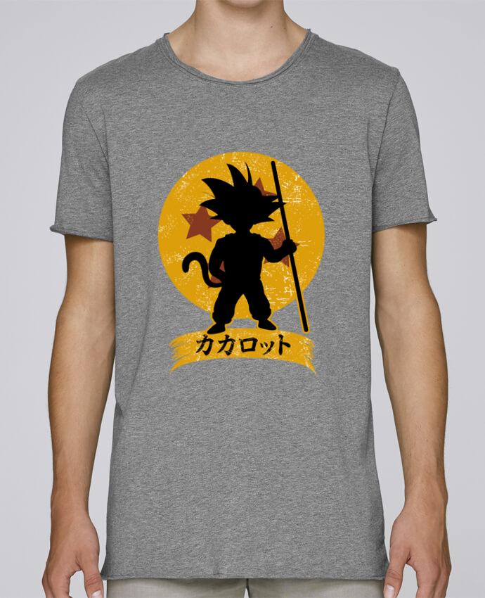 Camiseta Hombre Tallas Grandes Stanly Skates Kakarrot Crest por Kempo24