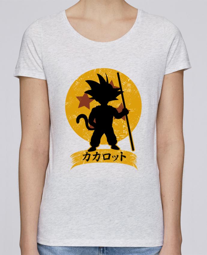 Camiseta Mujer Stellla Loves Kakarrot Crest por Kempo24