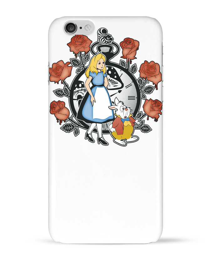 Carcasa  Iphone 6 Time for Wonderland por Kempo24