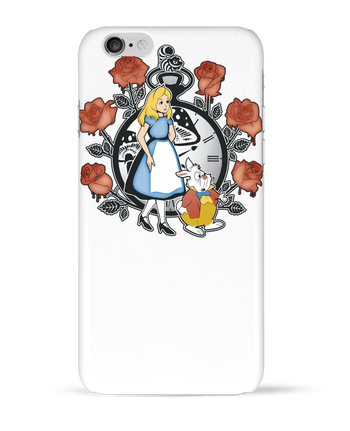 Carcasa 3D Iphone 6  Time for Wonderland por Kempo24