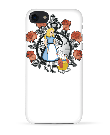 Carcasa 3D Iphone 7 Time for Wonderland de Kempo24