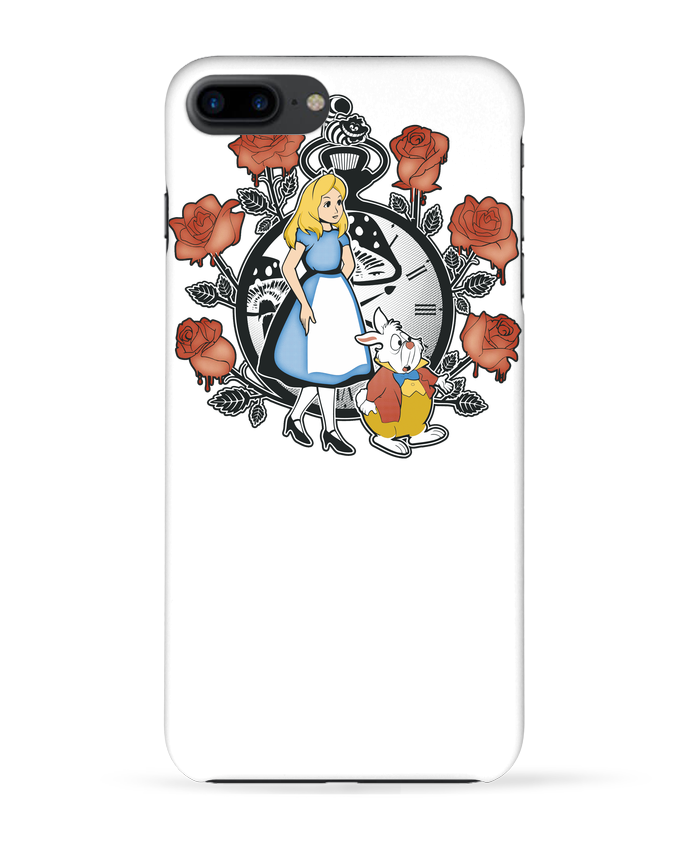 Carcasa Iphone 7+ Time for Wonderland por Kempo24