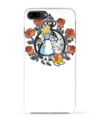 Carcasa 3D Iphone 7+ Time for Wonderland por Kempo24