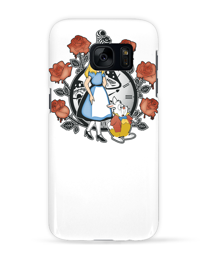 Carcasa Samsung Galaxy S7 Time for Wonderland por Kempo24