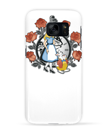 Carcasa 3D Samsung Galaxy S7 Time for Wonderland por Kempo24