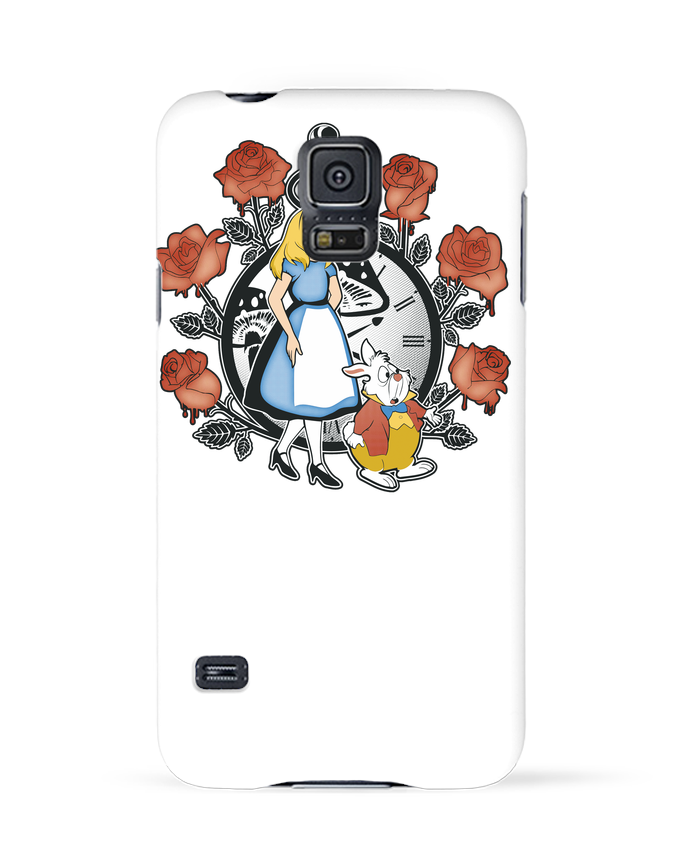 Carcasa Samsung Galaxy S5 Time for Wonderland por Kempo24