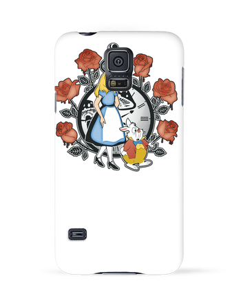 Carcasa 3D Samsung Galaxy S5 Time for Wonderland por Kempo24