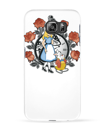 Carcasa 3D Samsung Galaxy S6 Time for Wonderland - Kempo24