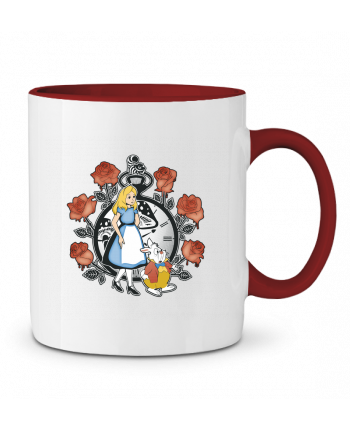 Taza Cerámica Bicolor Time for Wonderland Kempo24