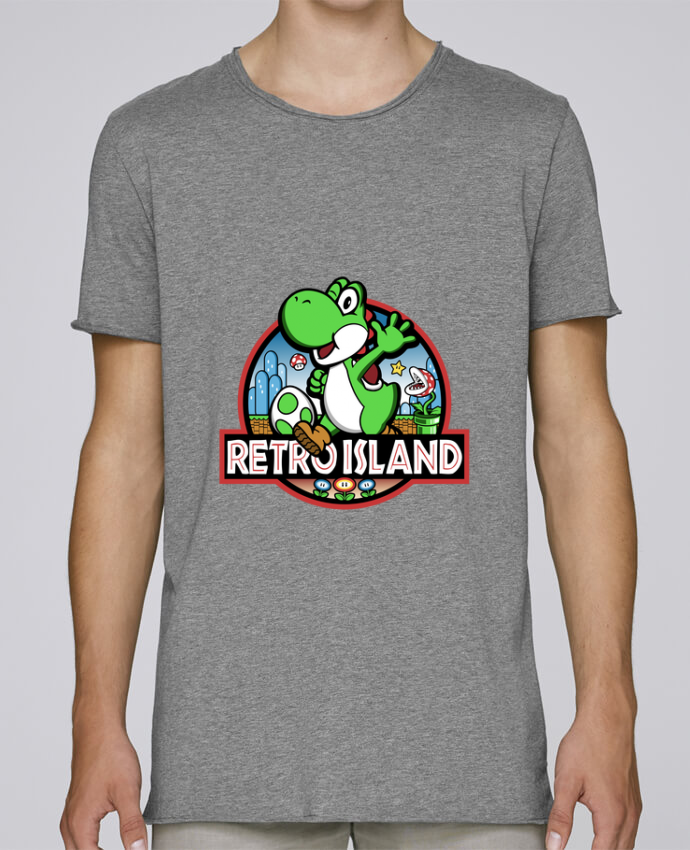 Camiseta Hombre Tallas Grandes Stanly Skates Retro Park por Kempo24