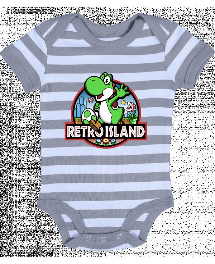 Body Bebé a Rayas Retro Park - Kempo24