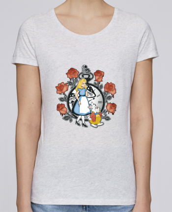 Camiseta Mujer Stellla Loves Time for Wonderland por Kempo24