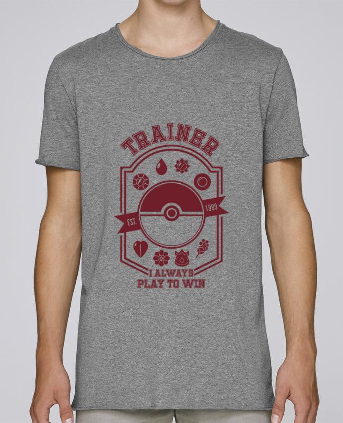 Camiseta Hombre Tallas Grandes Stanly Skates Trainer since 1999 por Kempo24