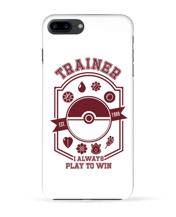 Carcasa 3D Iphone 7+ Trainer since 1999 por Kempo24