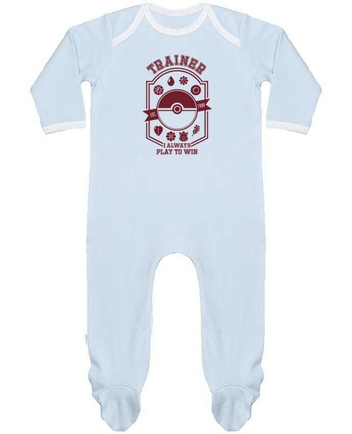 Pijama Bebé Manga Larga Contraste Trainer since 1999 por Kempo24