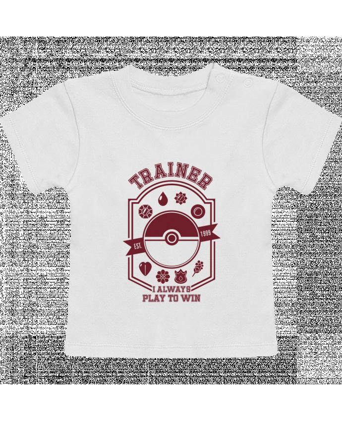 Camiseta Bebé Manga Corta Trainer since 1999 manches courtes du designer Kempo24