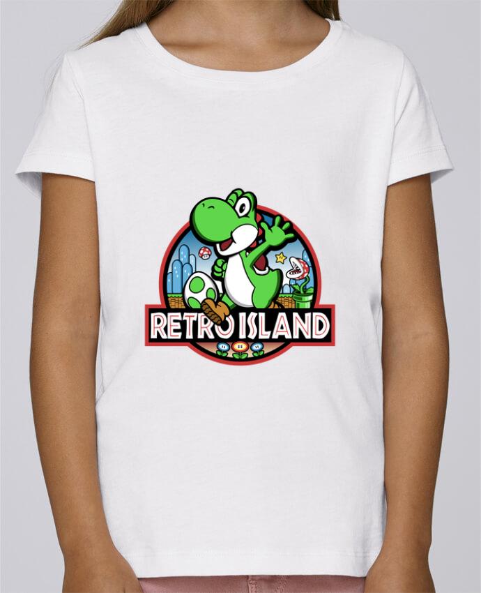 Camiseta Niña Stella Draws Retro Park por Kempo24