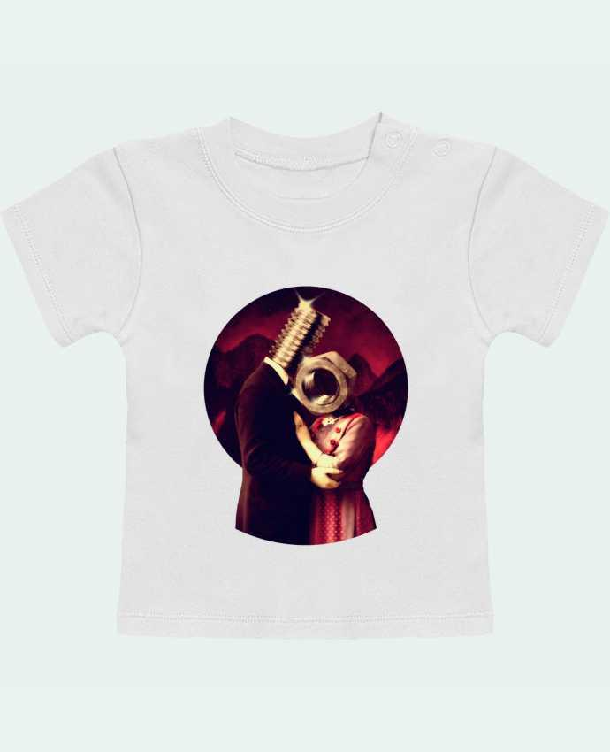 Camiseta Bebé Manga Corta Screw Love manches courtes du designer ali_gulec