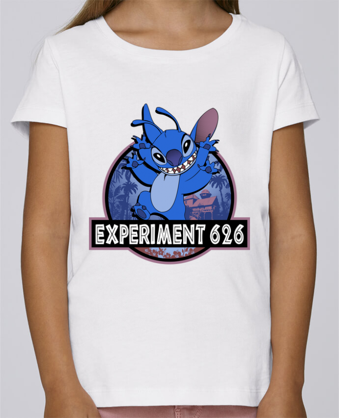 Camiseta Niña Stella Draws Experiment 626 por Kempo24