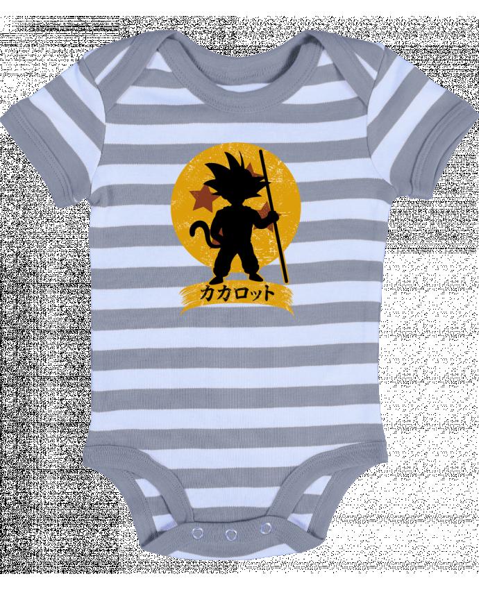 Body Bebé a Rayas Kakarrot Crest - Kempo24