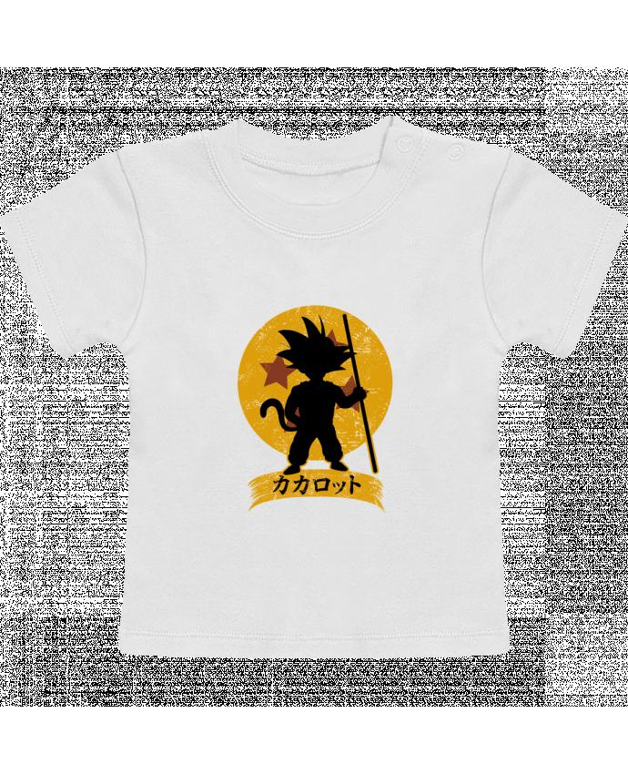 Camiseta Bebé Manga Corta Kakarrot Crest manches courtes du designer Kempo24