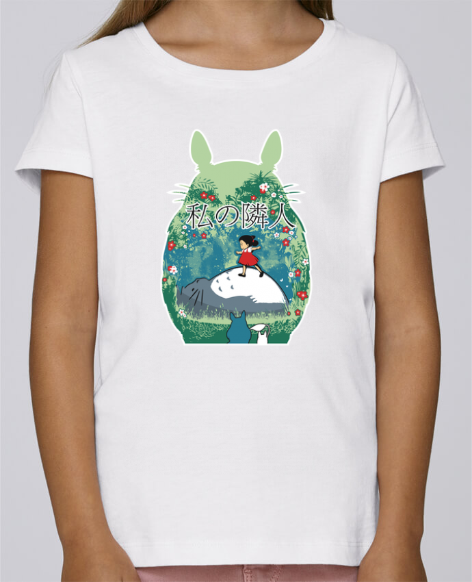 Camiseta Niña Stella Draws My neighbor por Kempo24