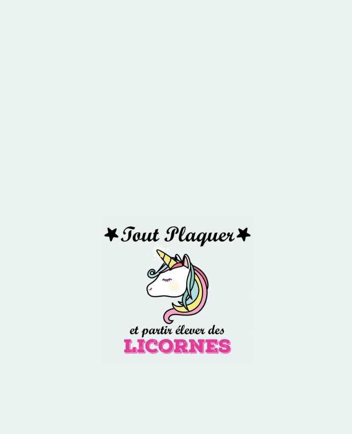 Bolsa de Tela de Algodón Tout plaquer et portir élever des licornes por tunetoo