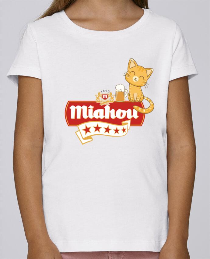Camiseta Niña Stella Draws Miahou por ParanoiaRecords