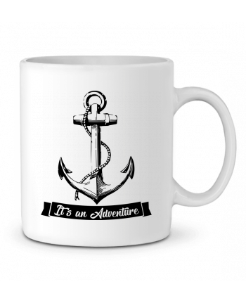 Taza Cerámica It's an Adventure por Freaky Raven