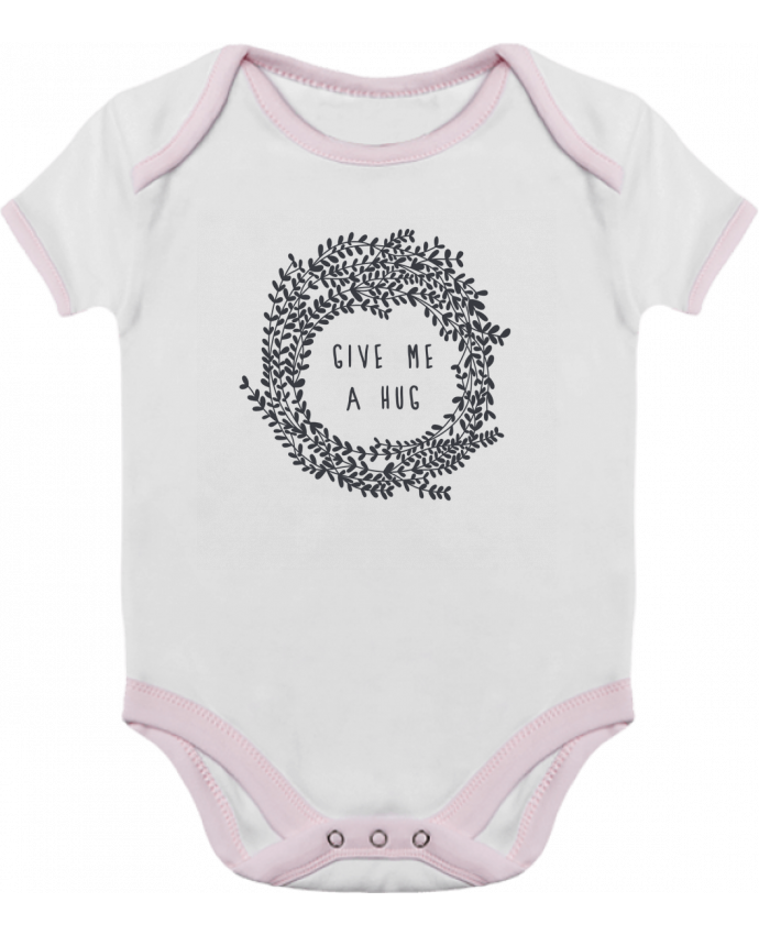 Body Bebé Contraste Give me a hug por Les Caprices de Filles