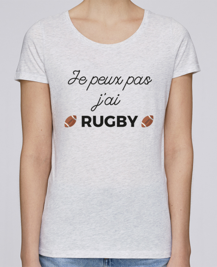 Camiseta Mujer Stellla Loves Je peux pas j'ai Rugby por Ruuud