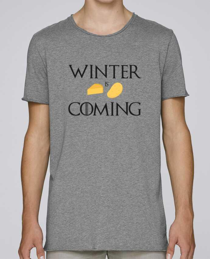 Camiseta Hombre Tallas Grandes Stanly Skates Winter is coming por Ruuud