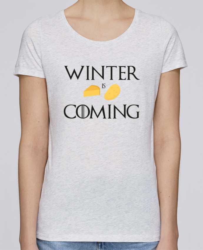 Camiseta Mujer Stellla Loves Winter is coming por Ruuud