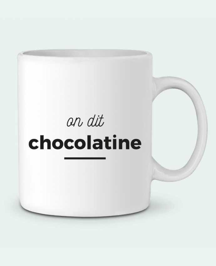 Taza Cerámica On dit chocolatine por Ruuud