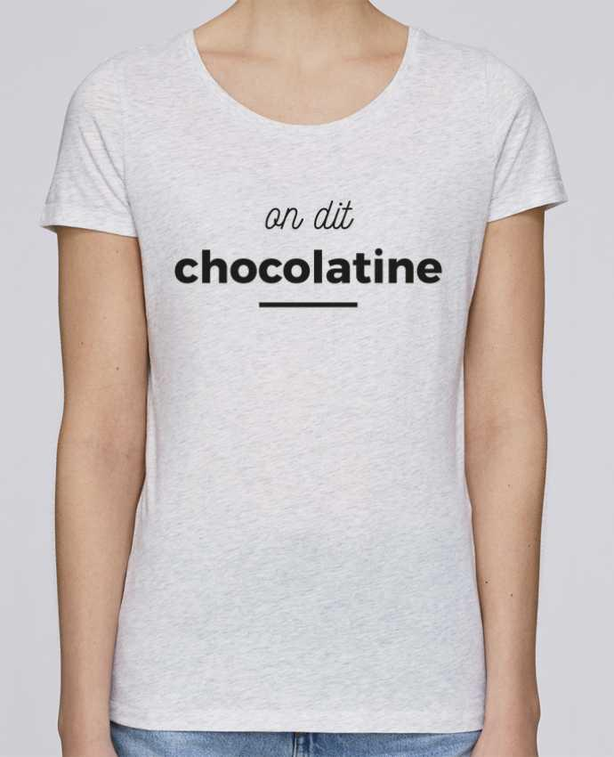 Camiseta Mujer Stellla Loves On dit chocolatine por Ruuud