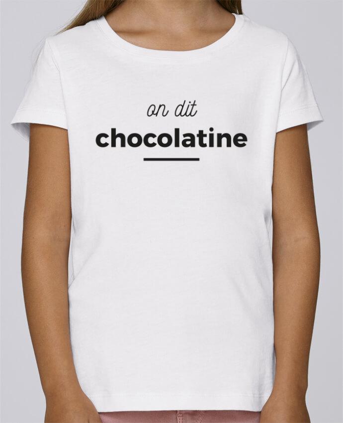 Camiseta Niña Stella Draws On dit chocolatine por Ruuud