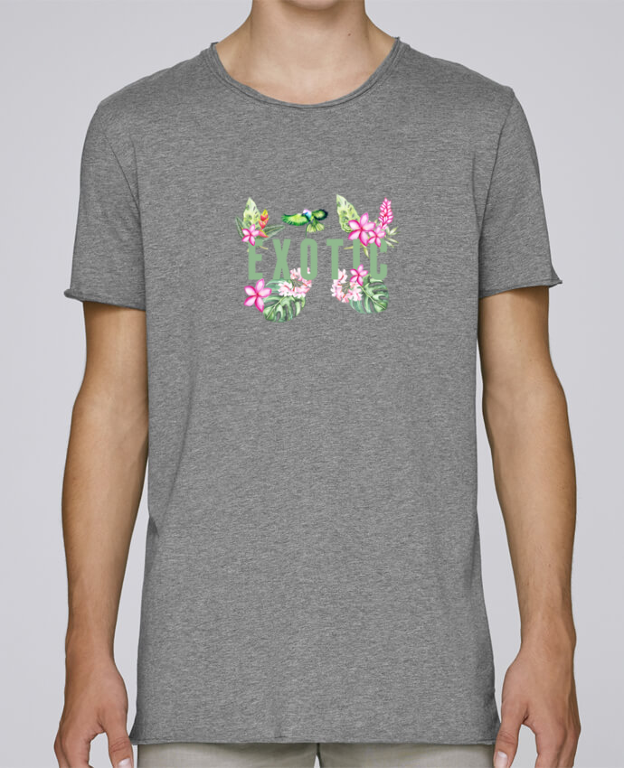 Camiseta Hombre Tallas Grandes Stanly Skates Exotic por Les Caprices de Filles