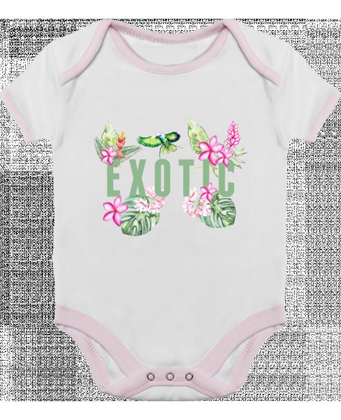 Body Bebé Contraste Exotic por Les Caprices de Filles