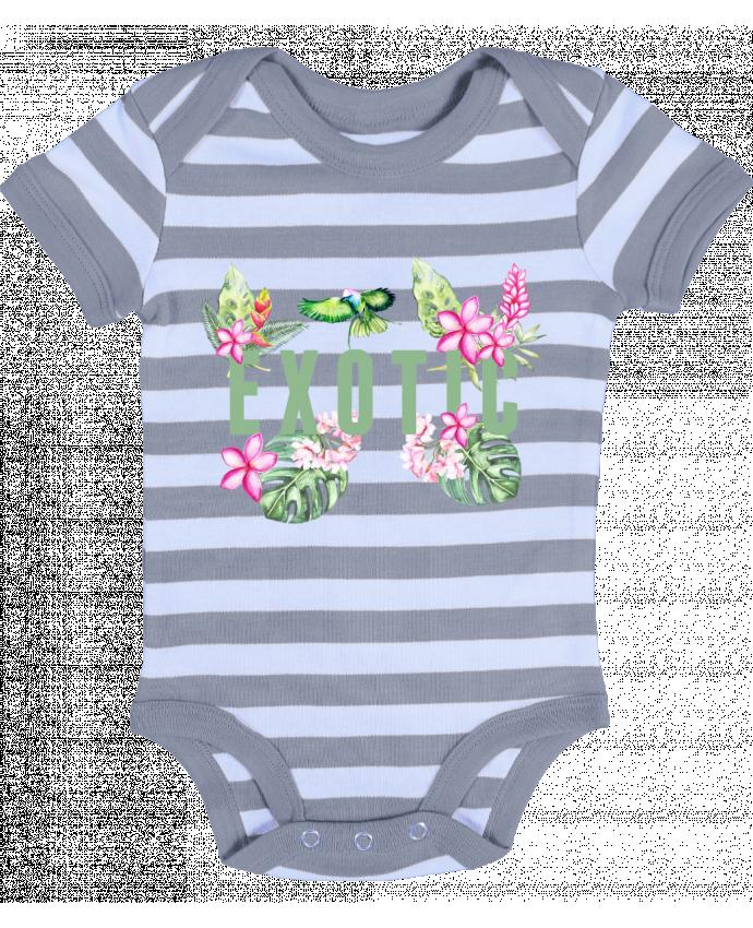 Body Bebé a Rayas Exotic - Les Caprices de Filles