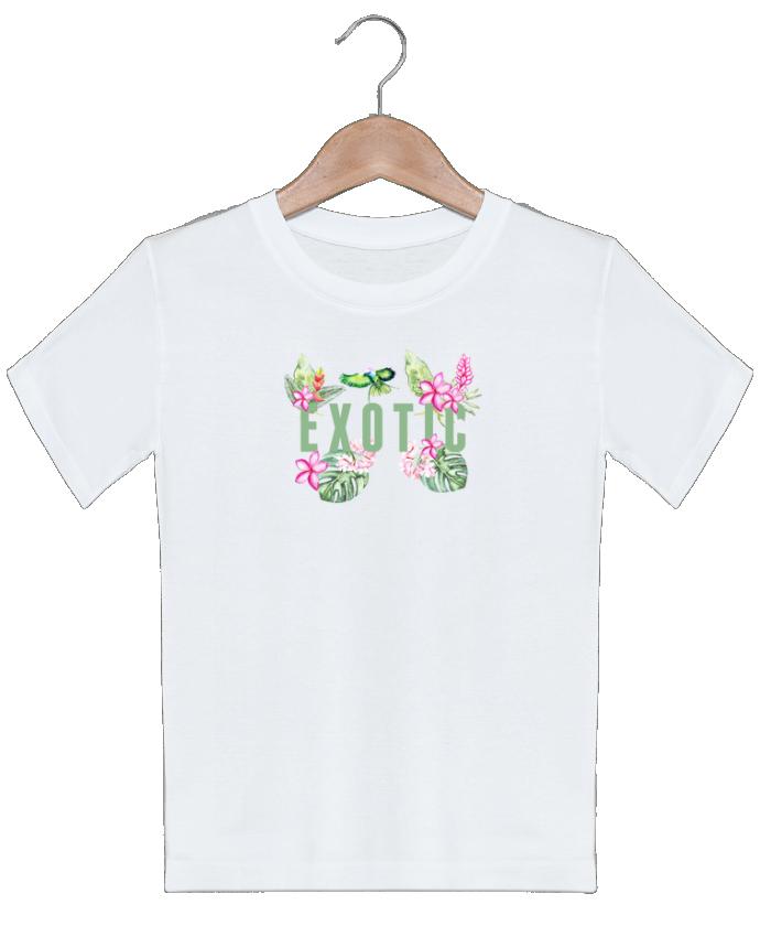 T-shirt garçon motif Exotic Les Caprices de Filles