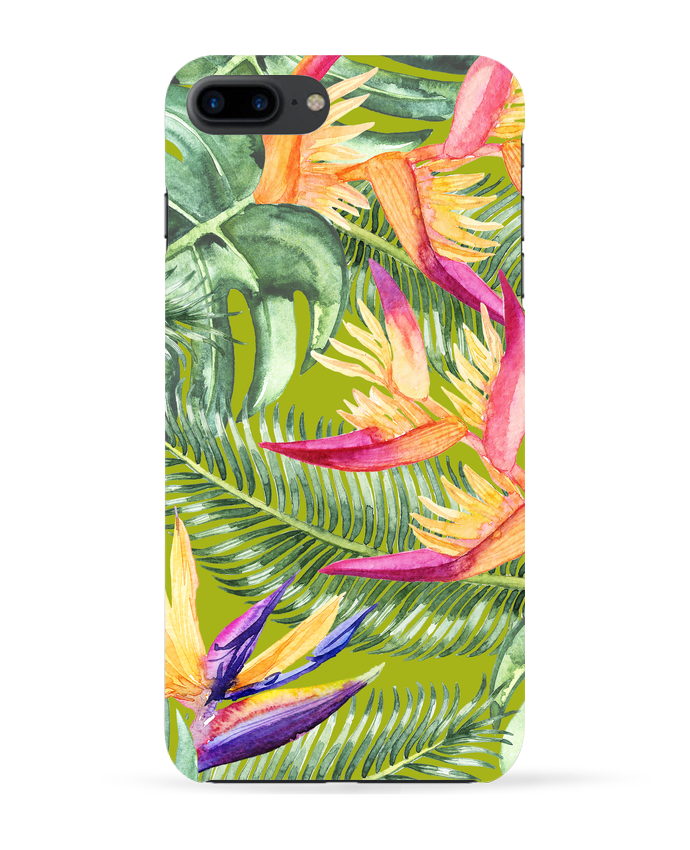 Carcasa Iphone 7+ Fleurs exotiques por Les Caprices de Filles