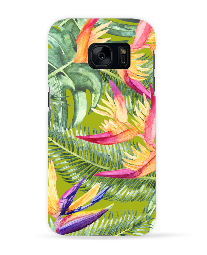 Carcasa Samsung Galaxy S7 Fleurs exotiques por Les Caprices de Filles