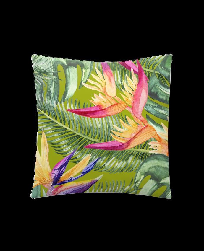 Cojín Sintético Suave 45 x 45 cm Fleurs exotiques por Les Caprices de Filles