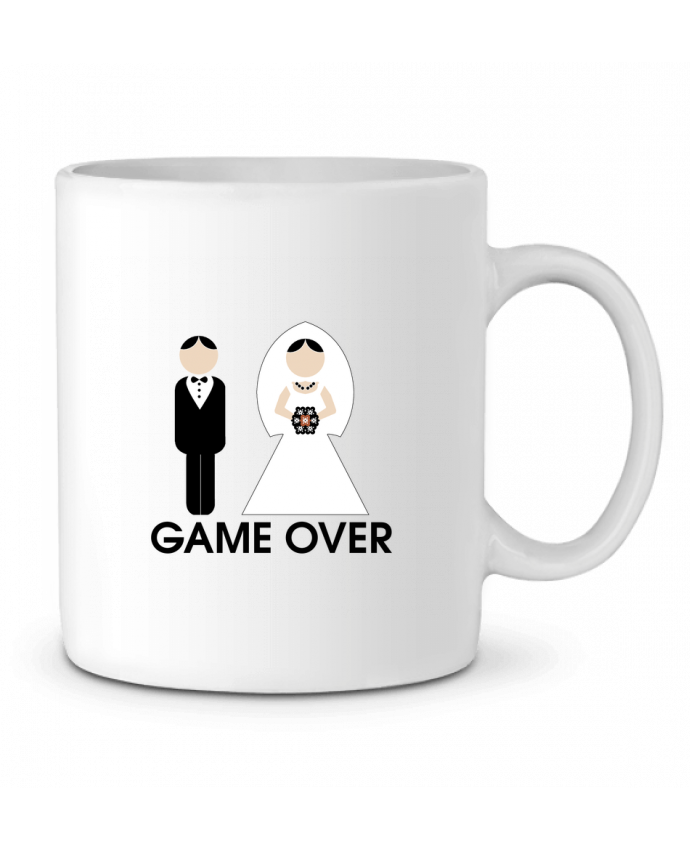 Taza Cerámica game over mariage por DUPOND jee