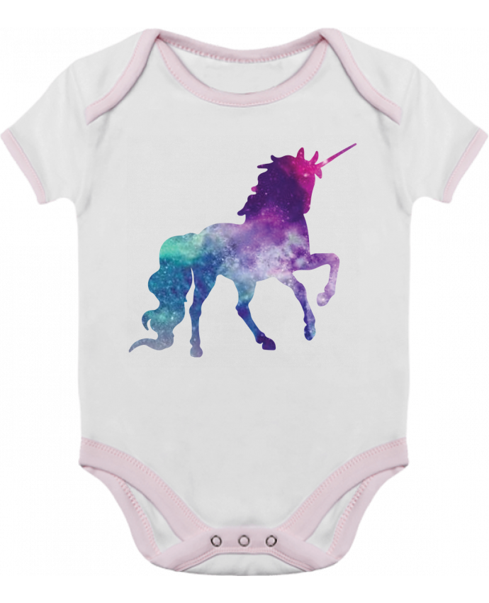 Body Bebé Contraste Space Unicorn por Crazy-Patisserie.com